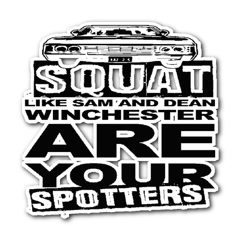 Are your Spotters - Sticker - Stickers - Supernatural-Sickness