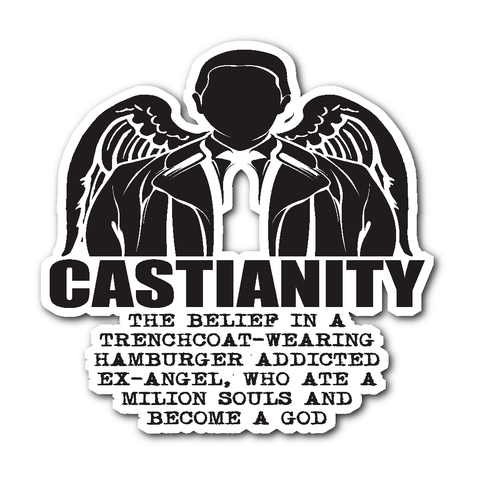 Castianity - Sticker - Stickers - Supernatural-Sickness