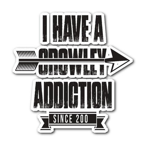 Crowley Addiction - Sticker - Stickers - Supernatural-Sickness
