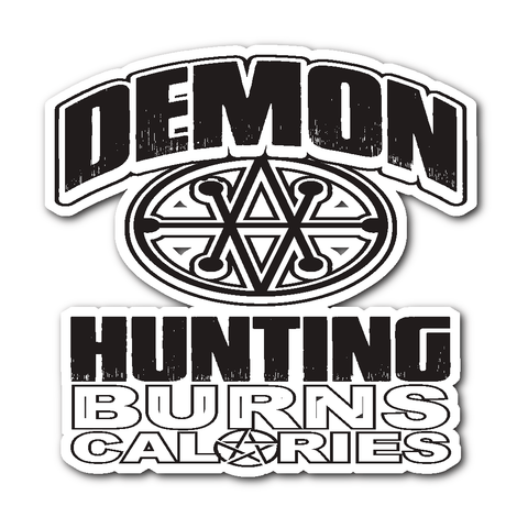 Demon Hunting - Sticker - Stickers - Supernatural-Sickness