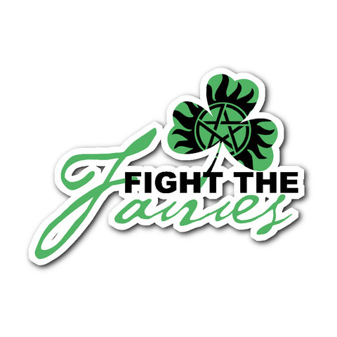 Fight The Fairies - Sticker - Stickers - Supernatural-Sickness