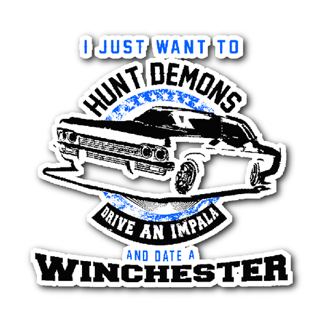 Hunt Demons - Sticker - Stickers - Supernatural-Sickness