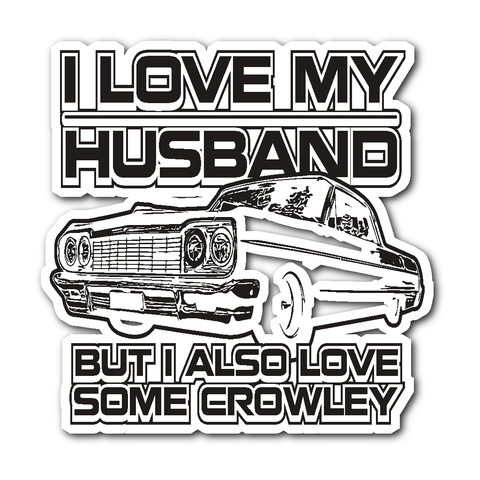 I Also Love Some Crowley - Sticker - Stickers - Supernatural-Sickness