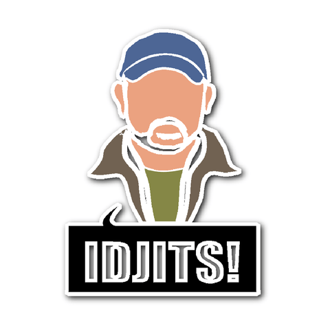 Idjits Sticker - Stickers - Supernatural-Sickness
