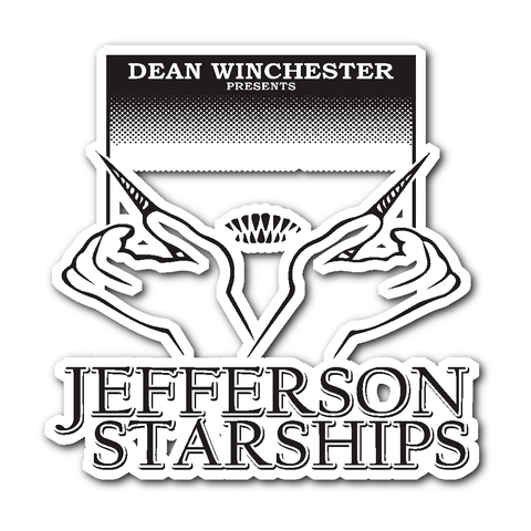 Jefferson Starships - Sticker - Stickers - Supernatural-Sickness