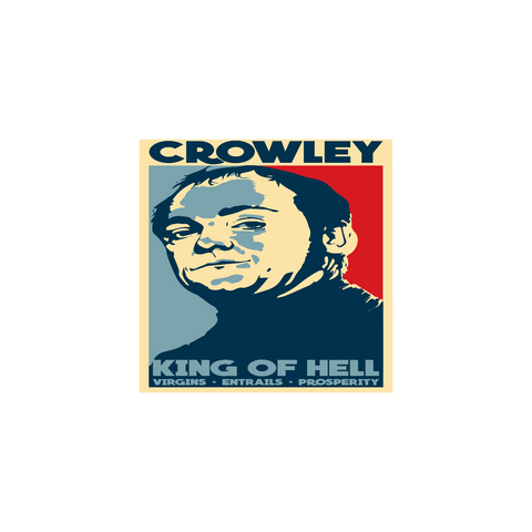 King Of Hell - Sticker - Stickers - Supernatural-Sickness