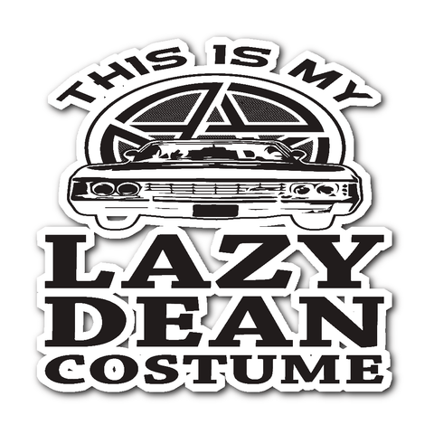 Lazy Dean - Sticker - Stickers - Supernatural-Sickness