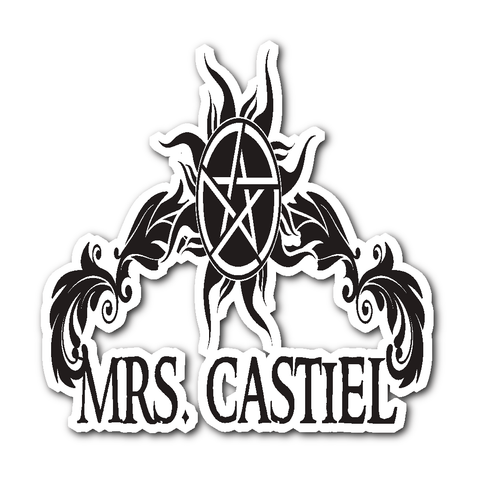 Mrs. Castiel - Sticker - Stickers - Supernatural-Sickness