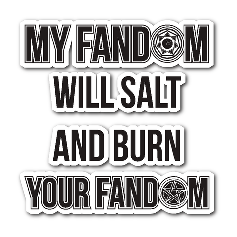 My Fandom - Sticker - Stickers - Supernatural-Sickness