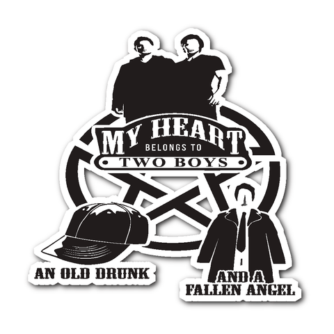 My Heart - Sticker - Stickers - Supernatural-Sickness