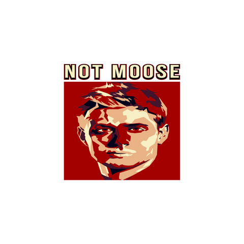 Not Moose - Sticker - Stickers - Supernatural-Sickness