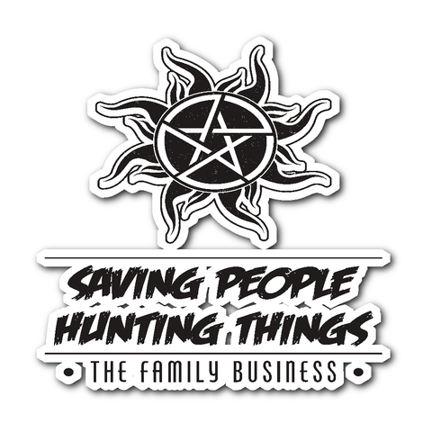 Saving People Hunting Things - Sticker - Stickers - Supernatural-Sickness