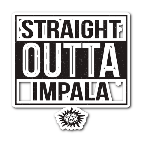 Stickers - Straight Outta Impala - Sticker