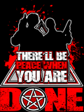 There'll Be Peace When You Are Done - Sticker - Stickers - Supernatural-Sickness - 1
