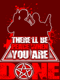 There'll Be Peace When You Are Done - Sticker - Stickers - Supernatural-Sickness - 4
