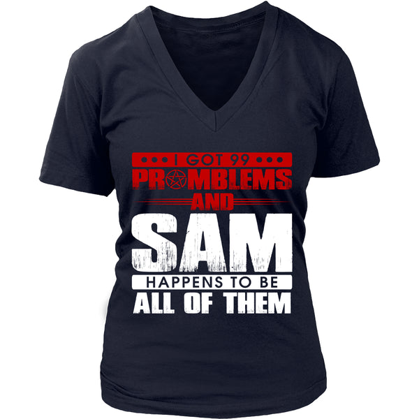 99 problems with Sam - Apparel - T-shirt - Supernatural-Sickness - 12