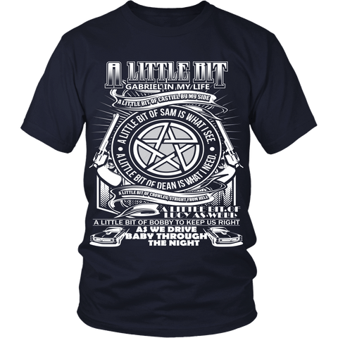 A Little Bit OF! - Apparel - T-shirt - Supernatural-Sickness - 1
