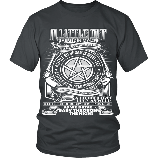 A Little Bit OF! - Apparel - T-shirt - Supernatural-Sickness - 2