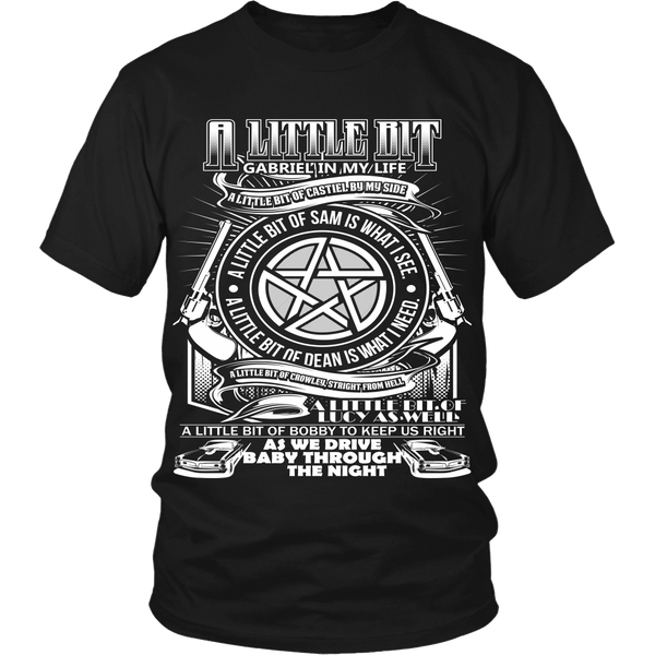 A Little Bit OF! - Apparel - T-shirt - Supernatural-Sickness - 3