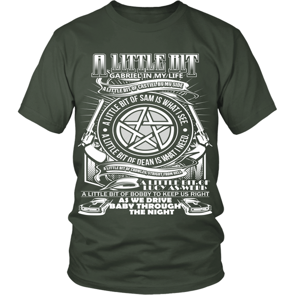A Little Bit OF! - Apparel - T-shirt - Supernatural-Sickness - 4