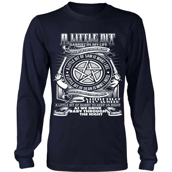 A Little Bit OF! - Apparel - T-shirt - Supernatural-Sickness - 5