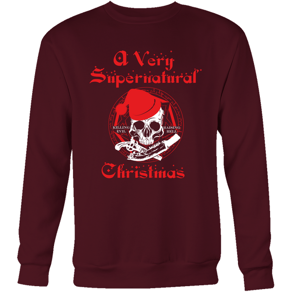 A Very Supernatural Christmas Sweater - T-shirt - Supernatural-Sickness - 10