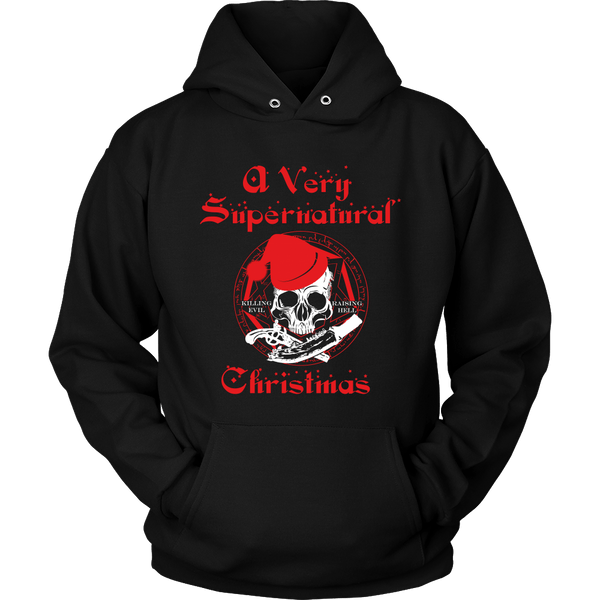 A Very Supernatural Christmas Sweater - T-shirt - Supernatural-Sickness - 11