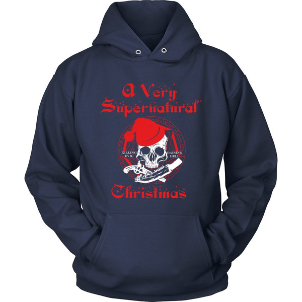 A Very Supernatural Christmas Sweater - T-shirt - Supernatural-Sickness - 12