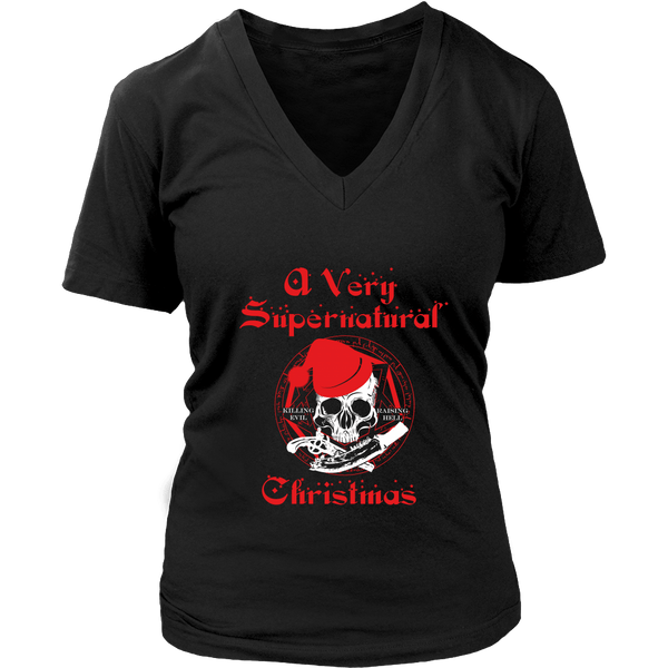 T-shirt - A Very Supernatural Christmas Sweater