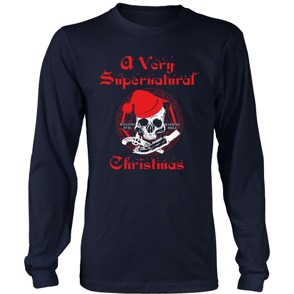 A Very Supernatural Christmas Sweater - T-shirt - Supernatural-Sickness - 2
