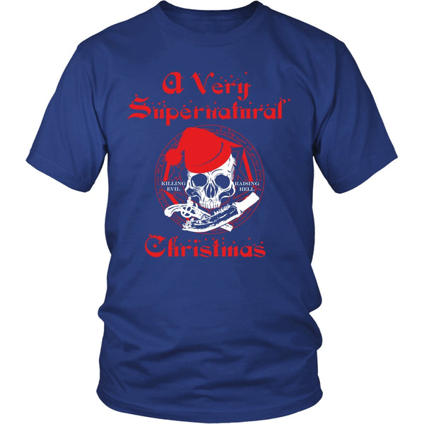 A Very Supernatural Christmas Sweater - T-shirt - Supernatural-Sickness - 3