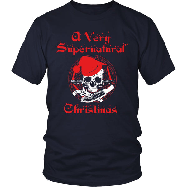 A Very Supernatural Christmas Sweater - T-shirt - Supernatural-Sickness - 4