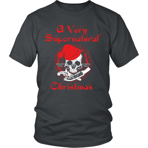 A Very Supernatural Christmas Sweater - T-shirt - Supernatural-Sickness - 5