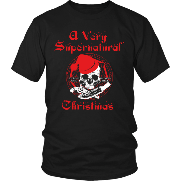 A Very Supernatural Christmas Sweater - T-shirt - Supernatural-Sickness - 6