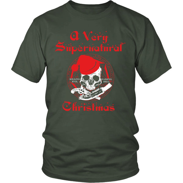 A Very Supernatural Christmas Sweater - T-shirt - Supernatural-Sickness - 7