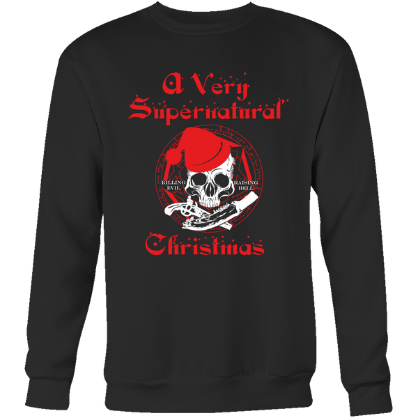 A Very Supernatural Christmas Sweater - T-shirt - Supernatural-Sickness - 8