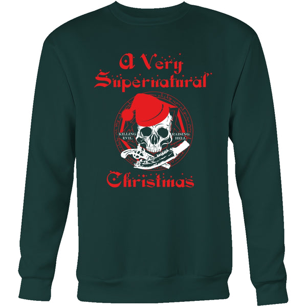 A Very Supernatural Christmas Sweater - T-shirt - Supernatural-Sickness - 9