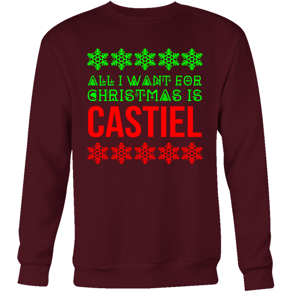 All I Want For Christmas Is Castiel - T-shirt - Supernatural-Sickness - 10