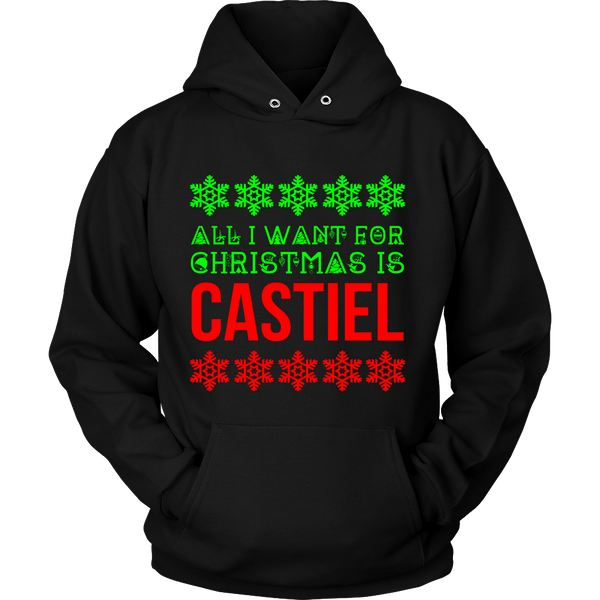 All I Want For Christmas Is Castiel - T-shirt - Supernatural-Sickness - 11