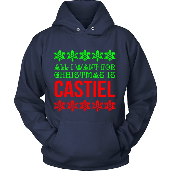 All I Want For Christmas Is Castiel - T-shirt - Supernatural-Sickness - 12