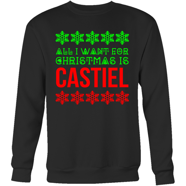 All I Want For Christmas Is Castiel - T-shirt - Supernatural-Sickness - 8