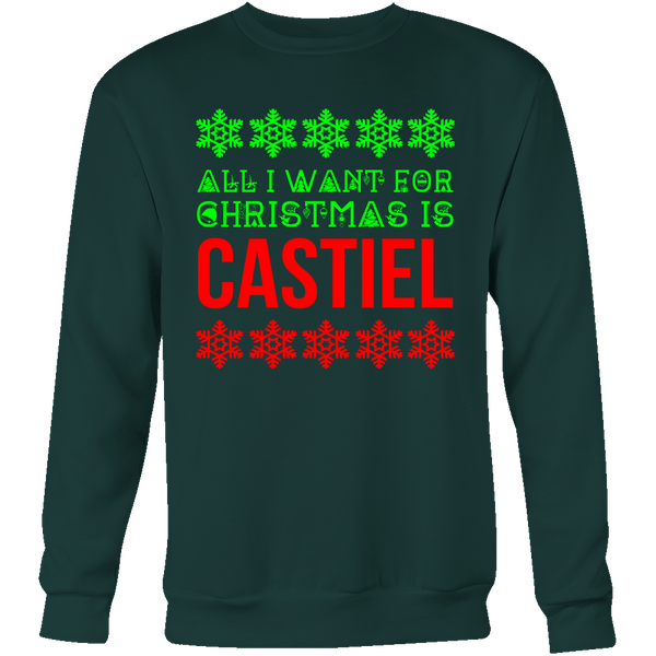 All I Want For Christmas Is Castiel - T-shirt - Supernatural-Sickness - 9