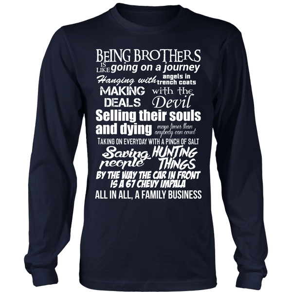 Being Brothers - Apparel - T-shirt - Supernatural-Sickness - 6