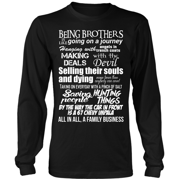 Being Brothers - Apparel - T-shirt - Supernatural-Sickness - 7