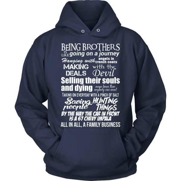 Being Brothers - Apparel - T-shirt - Supernatural-Sickness - 9