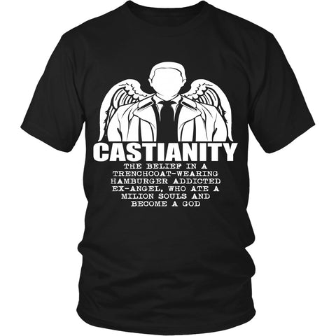 Castianity - Apparel - T-shirt - Supernatural-Sickness - 1