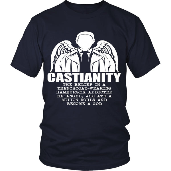 Castianity - Apparel - T-shirt - Supernatural-Sickness - 3
