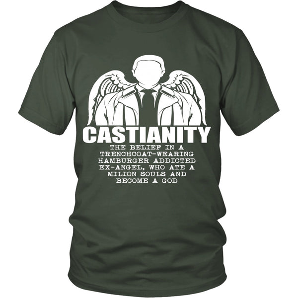 Castianity - Apparel - T-shirt - Supernatural-Sickness - 5