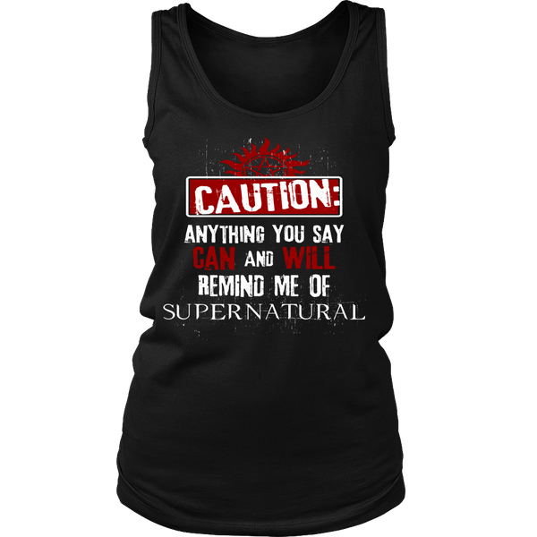 Caution - Apparel - T-shirt - Supernatural-Sickness - 10