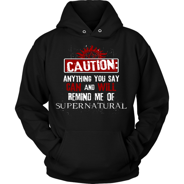 Caution - Apparel - T-shirt - Supernatural-Sickness - 8